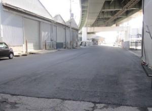 岸和田市道舗装区間